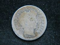 1895 O 10C BARBER DIME  KEY DATE NEW ORLEANS MINT LOW MINTAGE 440,000