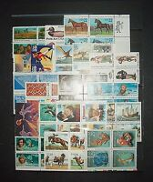 SB1 STAMPS - LOT OF 21, 22C-29C BLOCKS OF 4; ALL MNH