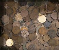 KAPPYSCOINS ESTATE COLLECTION LOT 100 INDIAN HEAD CENTS AVG CIRC 1880'S ON