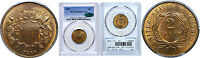 1867 TWO CENT PIECE PCGS MINT STATE 65 CAC