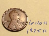 1925-D 1C BN LINCOLN CENT 616H