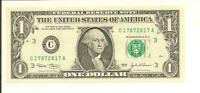 2003 ..UNCIRC $1  C 1787 2817 A  NICE LOOKING NOTE