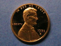 1971 S  PROOF  LINCOLN CENT