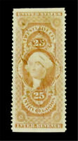 NYSTAMPS US REVENUE STAMP  R45B USED $300