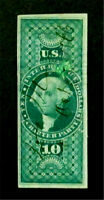 NYSTAMPS US REVENUE STAMP  R93A USED $900