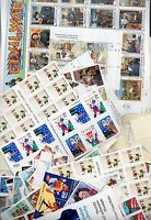 USA , LARGE LOT VALID POSTAGE STAMPS , FACE  VALUE US $ 550,--,  MNH