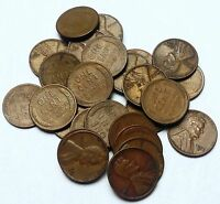 LOT OF 28 1953 S LINCOLN WHEAT CENTS   PENNY  COINS