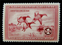 NYSTAMPS US DUCK STAMP  RW2 MINT OG NH $750