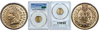 1861 INDIAN HEAD CENT PCGS MS 64 CAC