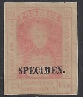 HAWAII 11S FOUR CLEAR MARGINS BRIGHT COLOR---