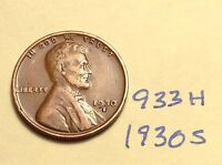 1930-S 1C BN LINCOLN CENT 933H