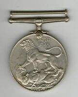 GREAT BRITAIN GEORGE VI WWII WAR MEDAL 1939 1945