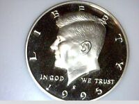 1995 S CLAD   KENNEDY HALF    NGC  PROOF 70 ULTRA CAMEO