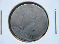 1800 10C DRAPED BUST DIME  KEY DATE MINTAGE 21,760 NICE DETAIL DAMAGED