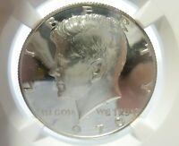 1970 S KENNEDY HALF DOLLAR NGC CAM  EYE BLAZING FROSTY  ULTRA CAMEO PROOF 68