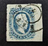 NYSTAMP US CSA CONFEDERATE STAMP  11 USED $20