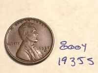 1935 S 1C BN LINCOLN CENT 800Y