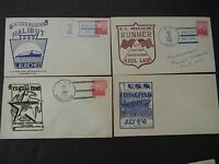 45 WORLD WAR TWO VINTAGE POSTAL NAVAL COVERS - SUBMARINES