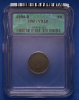 1908 S INDIAN CENT ICG VG 10