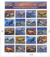 SCOTT 3916-25     US SOUVENIR  SHEET   AMERICAN  ADVANCES  IN  AVIATION    MNH