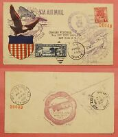 1928 645-17 VALLEY FORGE 2C FDC 1ST GARFIELD PERRY STAMP CLUB CACHET COVER
