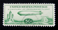 NYSTAMPS US AIR MAIL STAMP  C18 USED $48