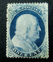 NYSTAMPS US STAMP  20 MINT OG H $900