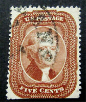 NYSTAMPS US STAMP  28 USED $1200
