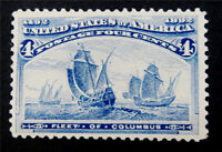 NYSTAMPS US STAMP  233 MINT OG NH $165