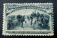 NYSTAMPS US STAMP  240 USED $200