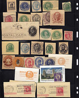 UNITED STATES; OLDER CUT SQUARES LOT BOB;  CV$  ITEM B1