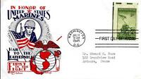 US MARINE CORPS ISSUE 929 FDC FLEETWOOD/KNAPP CACHET M299