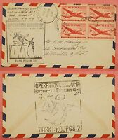1947 OPERATION HIGHJUMP COVER NAVY SHIP USS CURRITUCK ANTARCTIC EXPEDITION