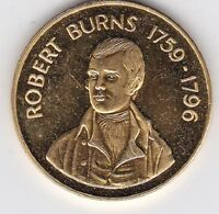 BURNS COTTAGE ALLOWAY/ ROBERT BURNS 1759 1796 COMMEMORATIVE MEDAL  LOOK