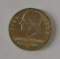 1929 E GERMANY   WEIMAR REPUBLIC SILVER COIN . KM 60