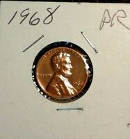 1968   S   PROOF  LINCOLN MEMORIAL  CENT  GREAT COIN