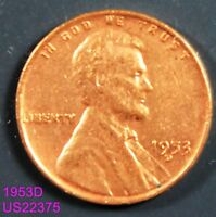 1953-D LINCOLN CENT CIRCULATED WHEAT CENT
