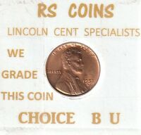 1953 D   LINCOLN  CENT  CHOICE BRILLIANT UNCIRCULATED   RS COINS   80857