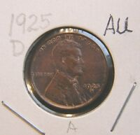 1925 D ABOUT UNCIRCULATED LINCOLN WHEAT CENT BUT YOU GRADE IT