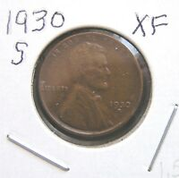 1930 S EXTRA FINE LINCOLN WHEAT CENT 1.5 BUT YOU GRADE IT