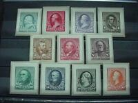 NOBLESPIRIT  TH1  COMPLETE US DIE PROOF SET 219P2 229P2 ONLY 85 SETS ISSUED