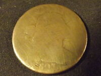 COLLECTIBLE UNITED STATES COIN:1803 U.S. MINT DRAPED BUST LARGE CENT COIN ABOUTG