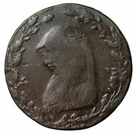 1791 WALES ANGLESEY DRUID HALFPENNY CONDER TOKEN
