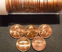 1973 D LINCOLN CENT PENNY CHOICE/GEM BU ROLL UNCIRCULATED