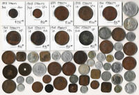59 STRAITS SETTLEMENTS & OTHER OLD SOUTHEAST ASIA COINS  MUS