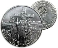 CANADA 1984 JACQUES CARTIER UNC MS BU DOLLAR FROM ORIGINAL MINT ROLL