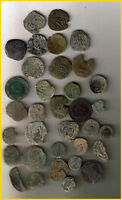 LOT 34 SPANISH COLONIAL PIRATE TREASURE COINS  A  CENTURIES