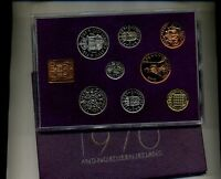 1970 GREAT BRITAIN 8 COIN PROOF SET