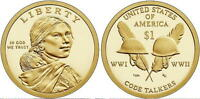 2016   P&D MINT   SACAGAWEA NATIVE AMERICAN DOLLARS  <>  MS BU CONDITION