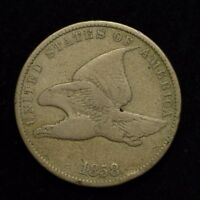 1858 FLYING EAGLE CENT SMALL LETTERS UNITED STATES COIN  CN4147